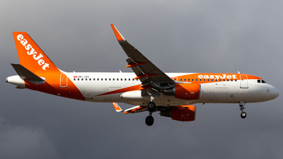 A picture of HBJXO - Airbus A320214 - easyJet - © Pablo Marín