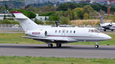 N125XP - Raytheon Hawker 800XP - Private