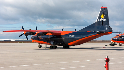 UR-CJN - Antonov An-12B - Cavok Air