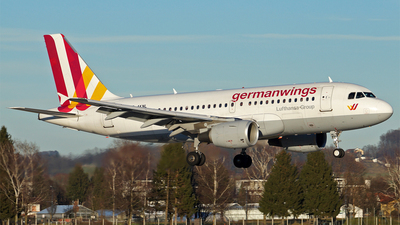 D-AKNL - Airbus A319-112 - Germanwings
