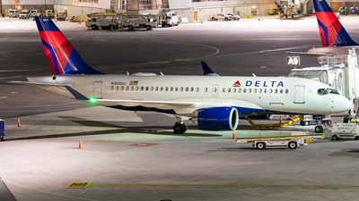 A picture of N109DU - Airbus A220100 - Delta Air Lines - © Jake  Sevigny