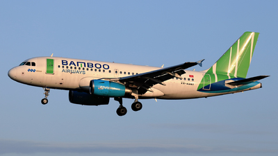 A picture of VNA581 - Airbus A319132 - Bamboo Airways - © photogiap