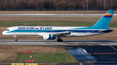 4X-EBT - Boeing 757-258 - Sun d'Or International Airlines
