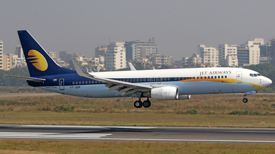 VT-JGP - Boeing 737-85R - Jet Airways