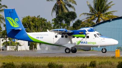 A picture of 9MSSF - Viking DHC6400 Twin Otter - MASwings - © Jonathan Chua