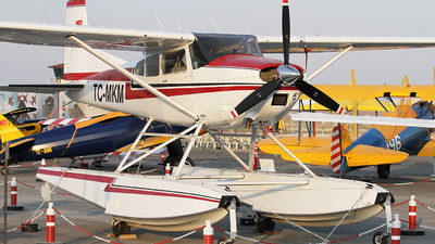 TC-MKM - Cessna 185 Skywagon - Private