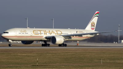 A6-ETR - Boeing 777-3FXER - Etihad Airways