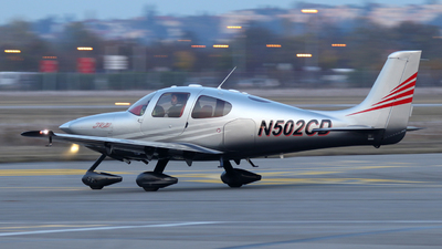 N502CD - Cirrus SR22-G2 - Private