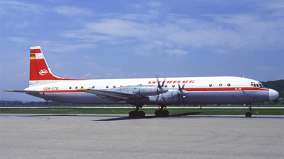 DDR-STD - Ilyushin IL-18V - Interflug