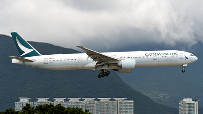A picture of BKQH - Boeing 777367(ER) - Cathay Pacific - © eyey328