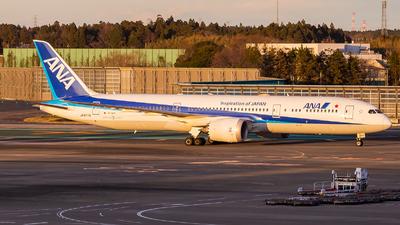 JA877A - Boeing 787-9 Dreamliner - All Nippon Airways (ANA)