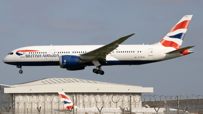 A picture of GZBJM - Boeing 7878 Dreamliner - British Airways - © Ethan Sewell