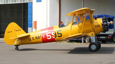 N1704M - Boeing N2S-5 Stearman - Private