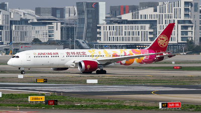 A picture of B20D1 - Boeing 7879 Dreamliner - Juneyao Airlines - © ceci wong