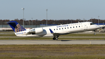 N452AW - Bombardier CRJ-200ER - United Express (Air Wisconsin)