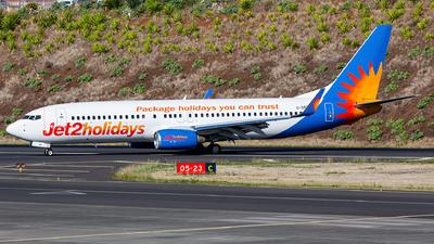 G-DRTM - Boeing 737-85P - Jet2.com