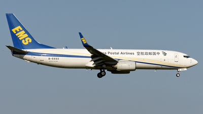 B-5550 - Boeing 737-86N(BCF) - China Postal Airlines