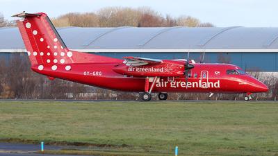 A picture of OYGRG - De Havilland Canada Dash 8200 - Air Greenland - © Ian Howat