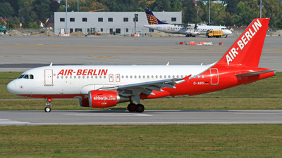 D-ABGI - Airbus A319-112 - Air Berlin