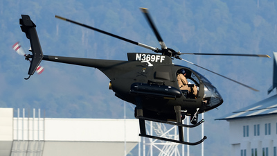 A picture of N369FF - MD Helicopters MD 500 - [0709FF] - © Teerawut_W