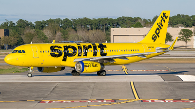 A picture of N643NK - Airbus A320232 - Spirit Airlines - © Positive Rate Photography