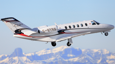 A picture of CGTRG - Gulfstream G200 - Chartright Air - © Mike MacKinnon