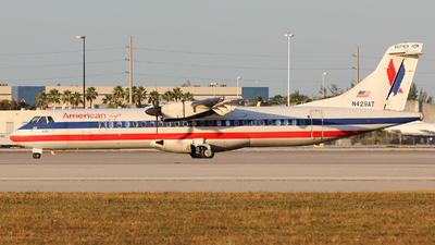N429AT - ATR 72-212 - American Eagle (Executive Airlines)