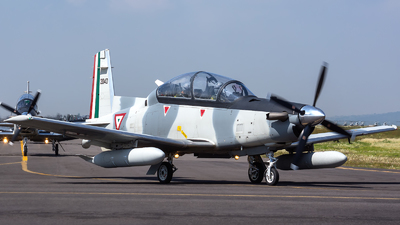 2040 - Raytheon T-6C Texan II - Mexico - Air Force