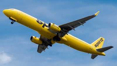 A picture of N677NK - Airbus A321231 - Spirit Airlines - © Ivan Jimenez Rojas