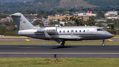 C-FJCB - Bombardier CL-600-2B16 Challenger 650 - Private