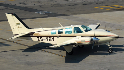 ZS-VBV - Beechcraft 58 Baron - Private