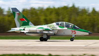 75 - Yakovlev Yak-130 - Belarus - Air Force
