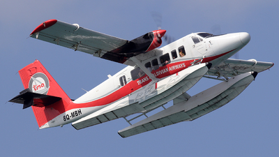 8Q-MBH - De Havilland Canada DHC-6-300 Twin Otter - Trans Maldivian Airways