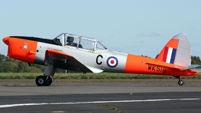 WK518 - De Havilland Canada DHC-1 Chipmunk - United Kingdom - Battle of Britain Memorial Flight (BBMF)
