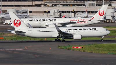 JA616J - Boeing 767-346(ER) - Japan Airlines (JAL)