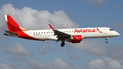 N937TA - Embraer 190-100IGW - Avianca Central America