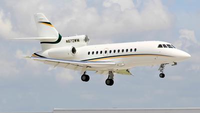 N672WM - Dassault Falcon 900EX - Private