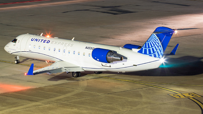A picture of N455SW - Mitsubishi CRJ200LR - United Airlines - © Roger M