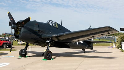 NX9265A - Grumman F6F-5 Hellcat - Private