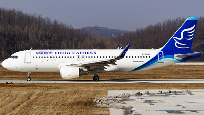 A picture of B30AY - Airbus A320214 - China Express Airlines - © zhuenxu2003