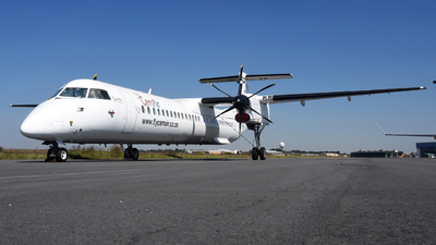 A picture of ZSDHD - De Havilland Canada Dash 8400 - CemAir - © ORTIASpotter