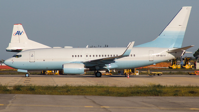 VP-BVV - Boeing 737-73U(BBJ) - Private