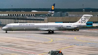 YU-ANG - McDonnell Douglas MD-82 - Adria Airways