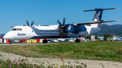 A picture of RA67254 - De Havilland Canada Dash 8400 - Aurora - © Alexander Dunaev