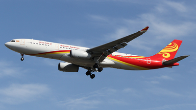 A picture of B1048 - Airbus A330343 - Hainan Airlines - © ceci wong