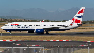ZS-ZWY - Boeing 737-8KN - British Airways (Comair)