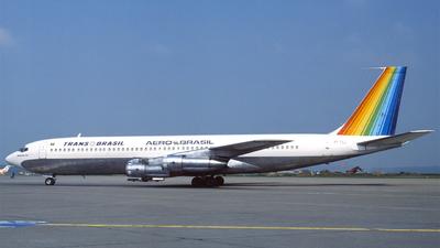 PT-TCJ - Boeing 707-327C - TransBrasil