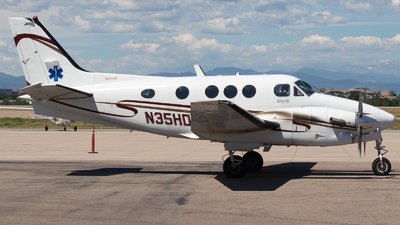N35HD - Beechcraft C90B King Air - Guardian Flight
