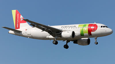 CS-TTC - Airbus A319-111 - TAP Air Portugal