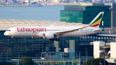 A picture of ETAUO - Boeing 7879 Dreamliner - Ethiopian Airlines - © George Lau - AHKGAP